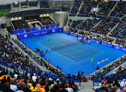 International Tennis Center. Abu Dhabi
