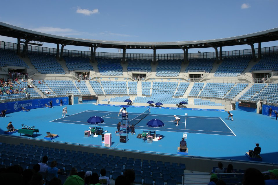 Olympic Tennis Center. Greece