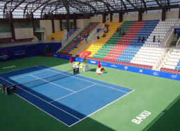 Baku tennis center. Azerbaijan