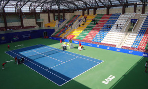 Baku tennis center. Azerbaijan