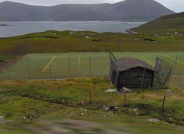 Isle of Harris tennis court