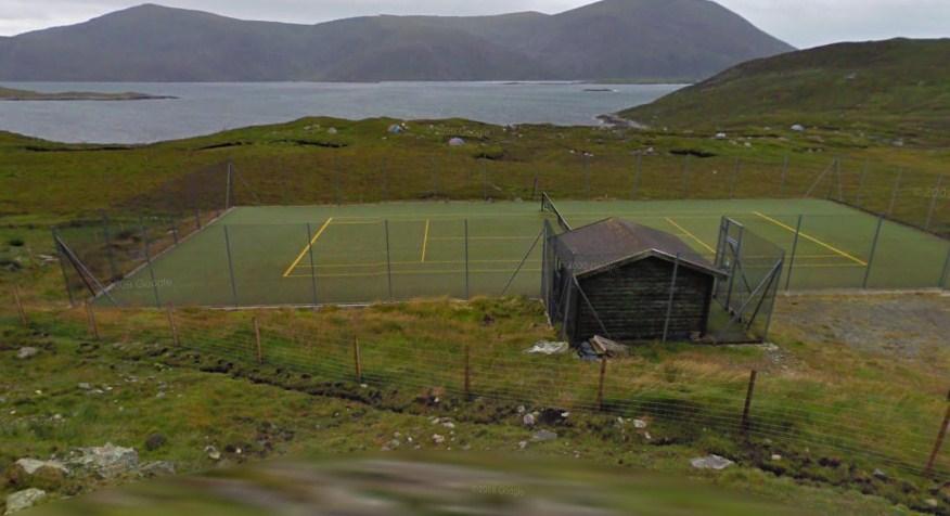 Isle of Harris tennis court