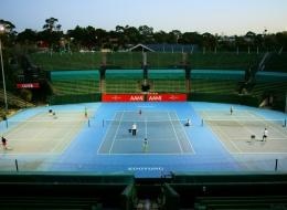 Kooyong Tennis Center. Australia