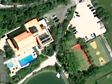 Parco Del Lago Resort & SPA. tennis court