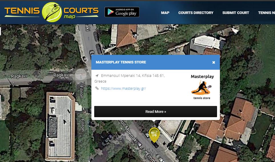 Masterplay Tennis Store