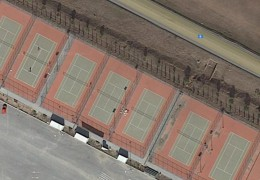 Larisa tennis courts