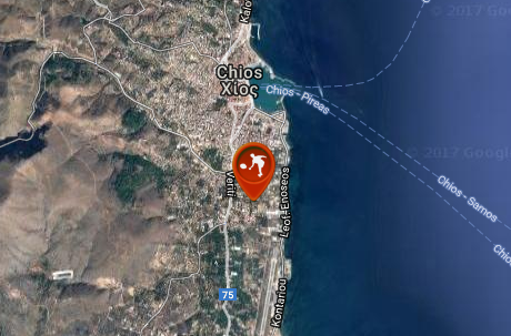 Omilos Antisfesisis Chios Tennis Courts Map Directory