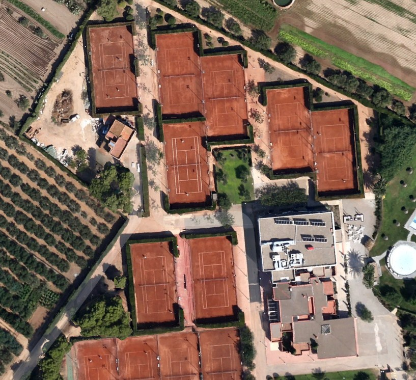 Club Tennis Reus Monterols | Tennis Courts Map Directory