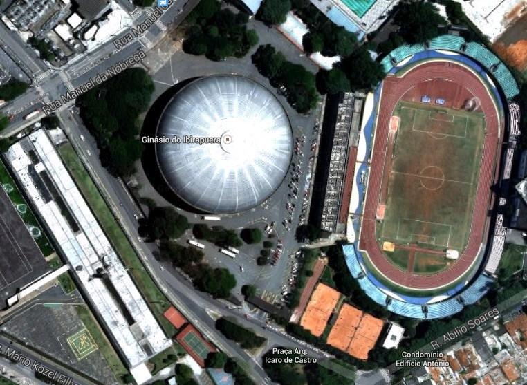 Ginásio do Ibirapuera (BRAZIL OPEN 2016)