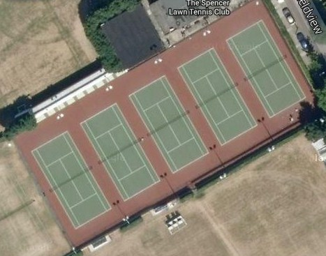 The Spencer Lawn Tennis Club