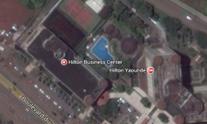 Hilton Yaounde. Cameroon. Tennis court