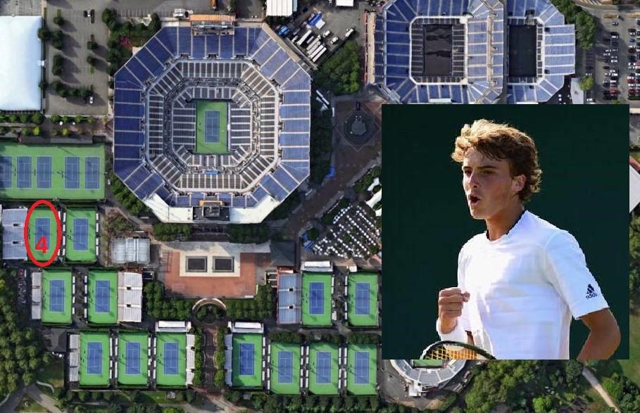 US OPEN Ο ΤΣΙΤΣΙΠΑΣ ΑΓΩΝΙΖΕΤΑΙ ΓΙΑ ΜΙΑ ΘΕΣΗ ΣΤΟΥΣ 16 Tennis - Us Open Tennis Map