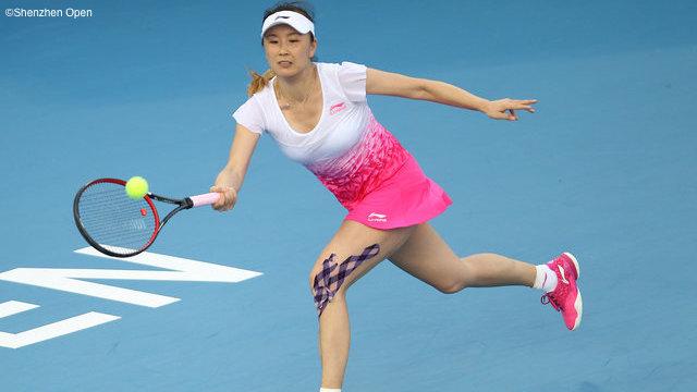Peng Thunders In Shenzhen Return