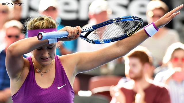 Azarenka Turns Up The Heat In Brisbane