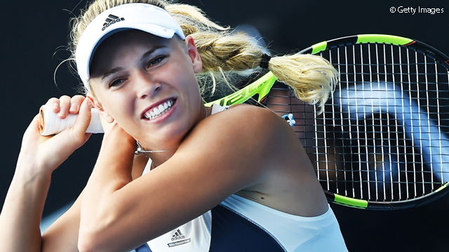 Ruthless Wozniacki Wins In Auckland