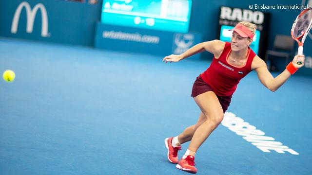 Kerber First Into Brisbane Final