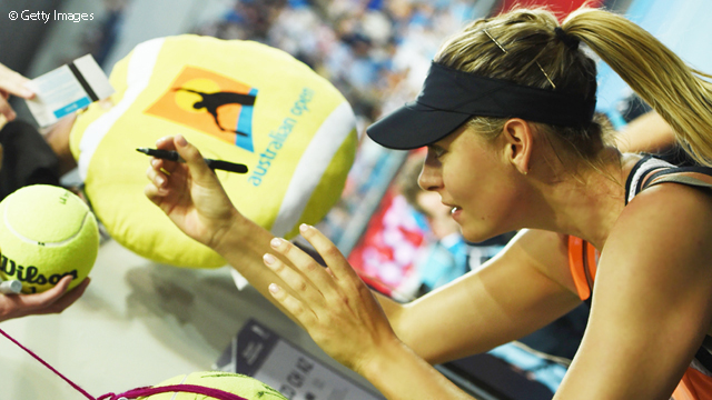Sharapova Shines In First Match Of 2016