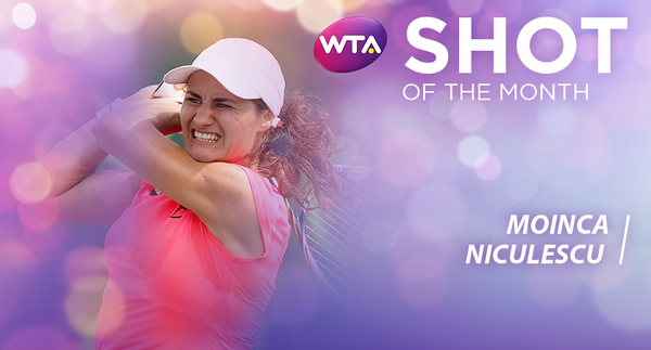 WTA Shot Of The Month: Niculescu