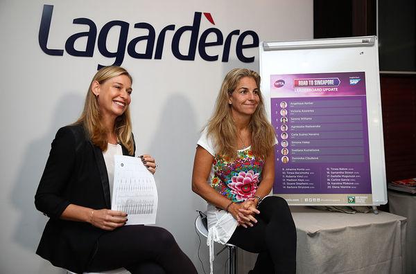 Sánchez-Vicario Named WTA Finals Ambassador