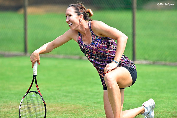 Bencic Back In Business At Ricoh Open