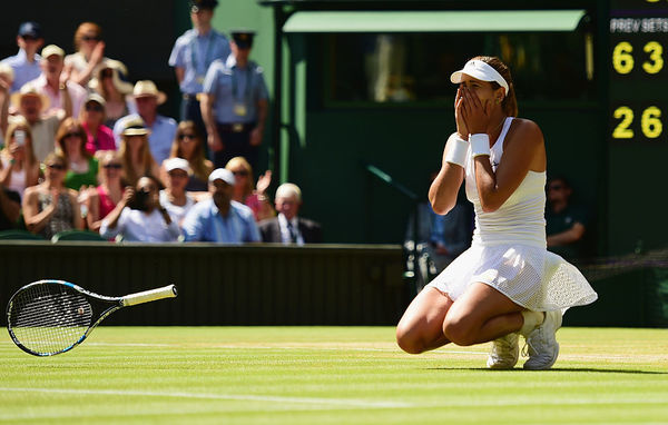 Muguruza Moves Towards Wimbledon