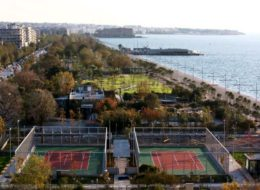 Thessaloniki tennis courts (Παρκο Κυκλοφοριακης Αγωγης)