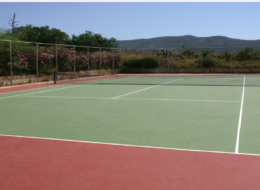 Andros Holiday Hotel (tennis court)