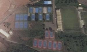 National Stadium Tennis. Abuja, Nigeria